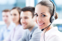 Call center team