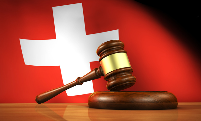 Swiss Law And Justice Concept