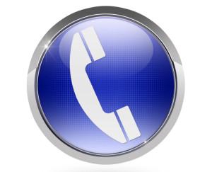 button hotline phone telefon